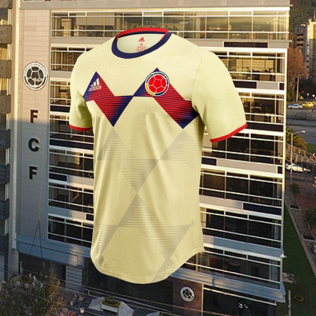 Así sería la nueva camiseta de la selección Colombia - Santa