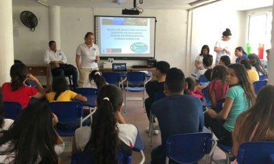 El taller fue dirigido a los estudiantes de la Institución Educativa Técnica de Minca.