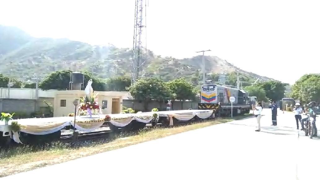 procesión ferroviaria.