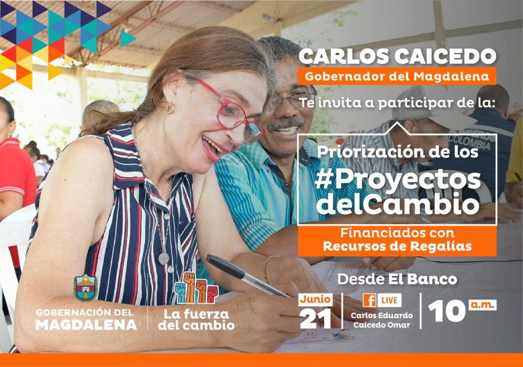 Caicedo socializará los proyectos que serán financiados con regalías en municipios del Magdalena - Noticias de Colombia