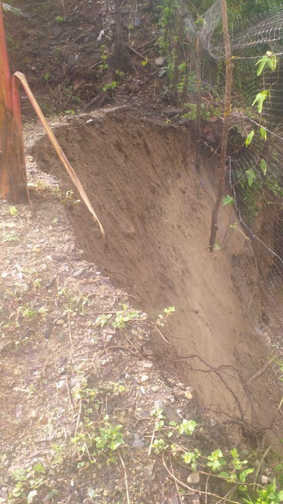 Cuatro casas en riesgo de colapsar en zona rural de Guachaca - Noticias de Colombia
