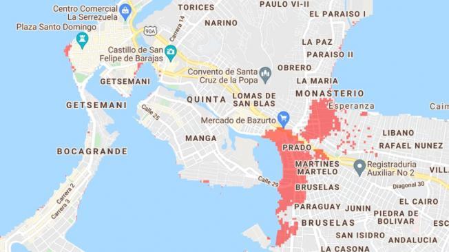 Centro Histórico de Santa Marta quedaría cubierto por el mar en 2050 - Noticias de Colombia