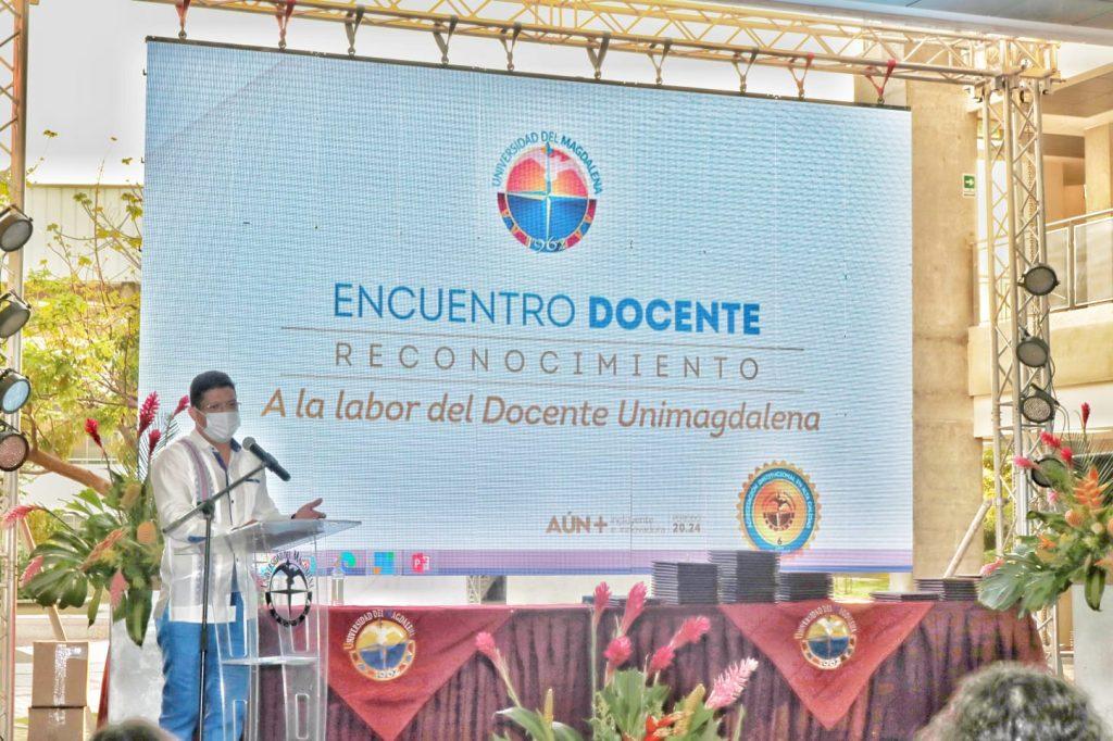 Unimagdalena homenajeó a sus docentes por sus contribuciones a la educación - Noticias de Colombia