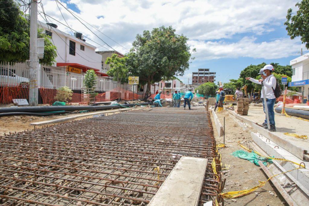 Obras de recuperación de la carrera 19 presentan un avance del 56% - Noticias de Colombia