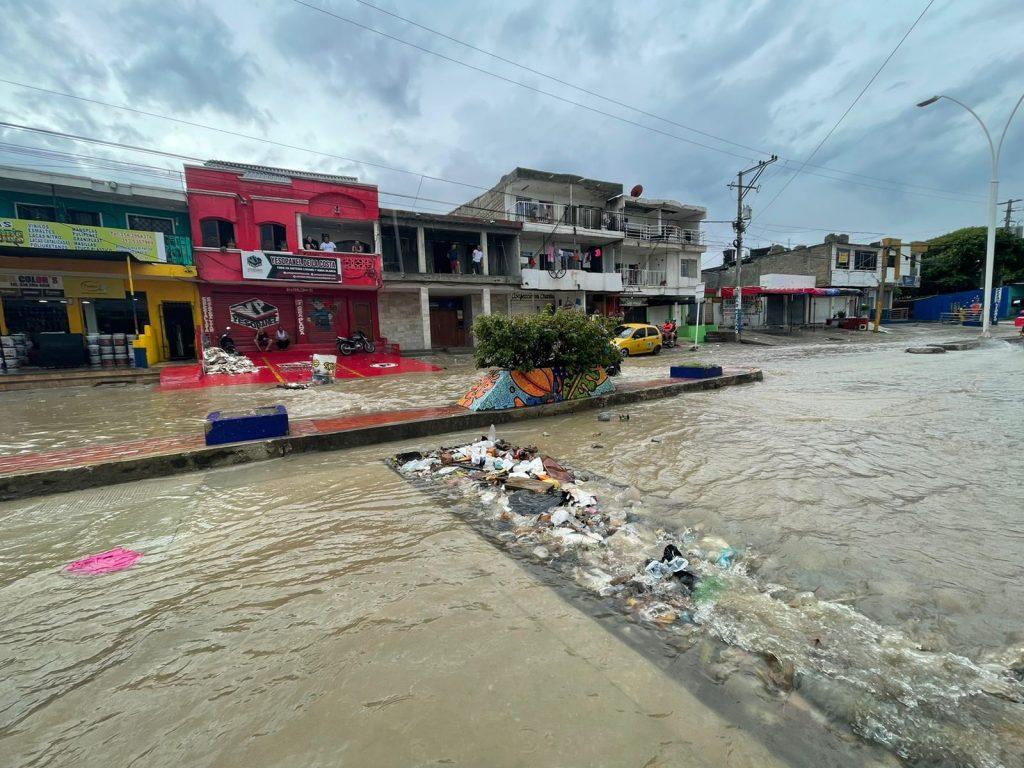 Falta de cultura ciudadana, el reflejo de las lluvias en Santa Marta - Noticias de Colombia
