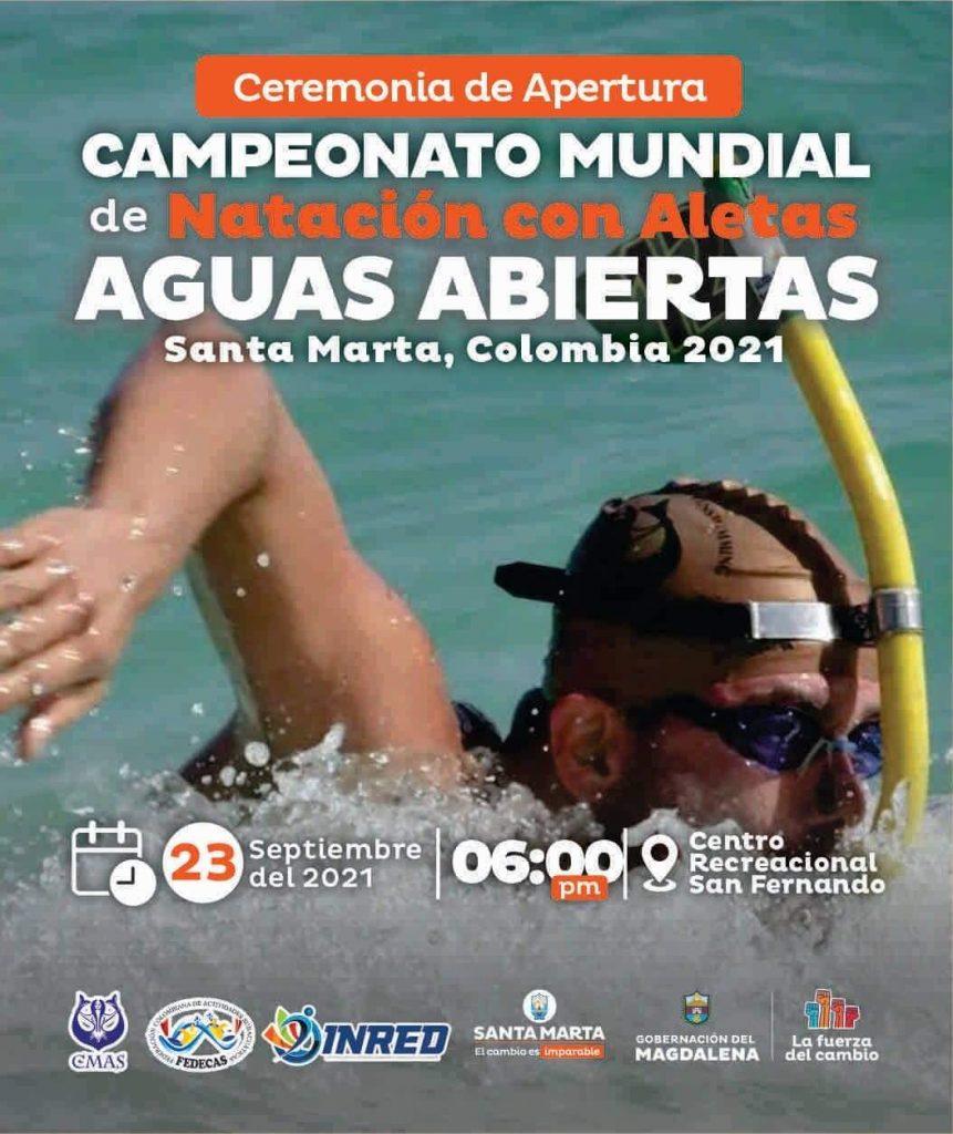 ¡Atención samario! Conozca la programación del Mundial de Natación en Aguas Abiertas - Noticias de Colombia